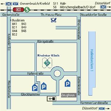 Rheintor Klinik Neuss - Rheintor Klinik Neuss - für Patienten